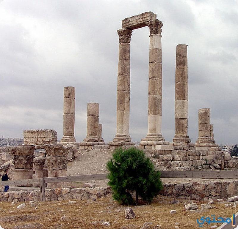 معبد هرقل الأثري