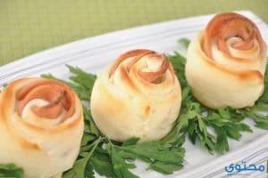 اكلات خليجية طريقة عمل وردات الزيتون