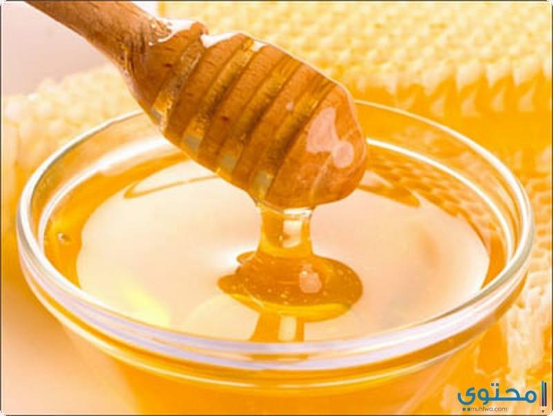 خلطة دقيق القمح مع عسل النحل
