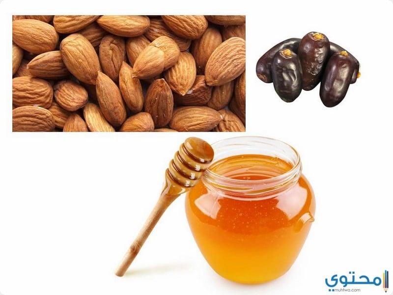 وصفة اللوز والعسل و العجوة