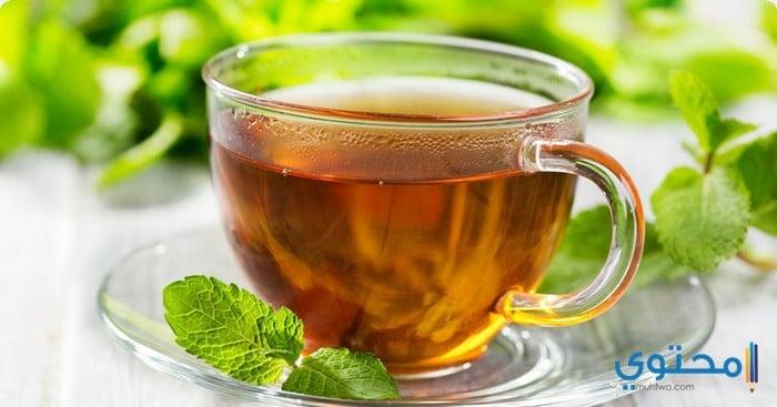 الشاي الاخضر لحرق الدهون