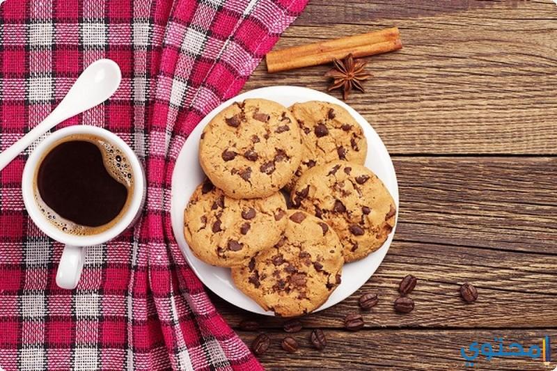 طريقة عمل حلوي البسكوت بالقهوة 11