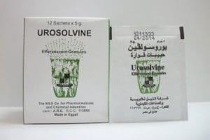 يوروسولفين UROSOLVI لعلاج زيادة الأملاح والنقرس