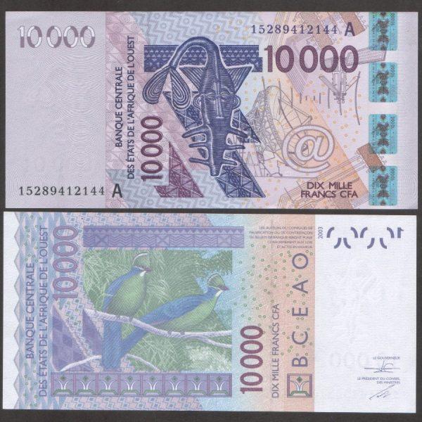 عملة دولة توغو