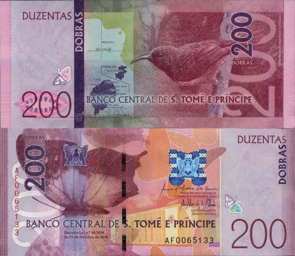 عملة دولة ساو تومي وبرينسيبي8