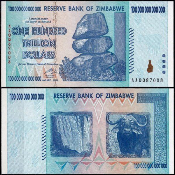 عملة زيمبابوي