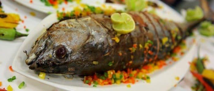 طريقة تحضير سمك التونة المقلي وفي الفرن