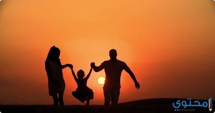 أجمل العبارات عن الأم والأب