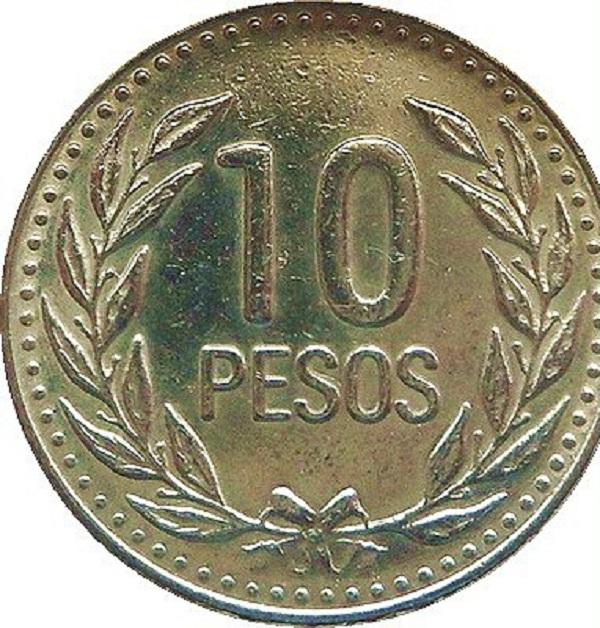 10 بيزو كولومبي