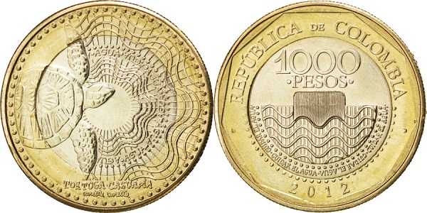 1000 بيزو كولومبي