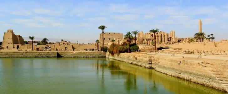 تقرير عن البحيرة المقدسة في معبد الكرنك ونهاية العالم