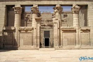صور ومعلومات عن معبد كلابشة