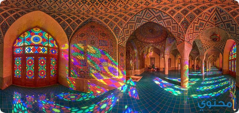 مسجد قوس قزح في إيران