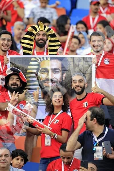 مشجعات وجماهير منتخب مصر