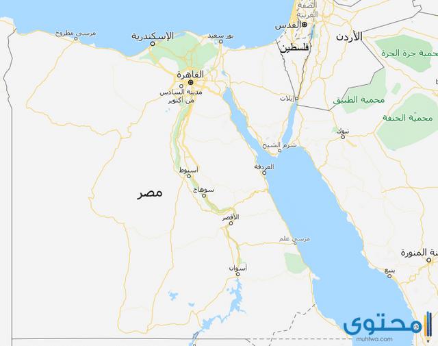 خريطة فلسطين بالانجليزي
