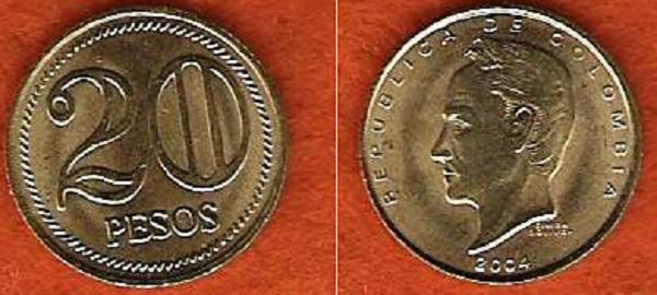 20 بيزو كولومبي