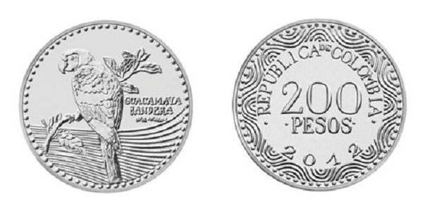 200 بيزو كولومبي
