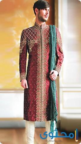 ملابس باكستانيه للعرسان فخمة 1441