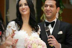صور ايمان البانى وزوجها مراد يلديريم 2018