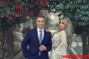 صور المذيعة إيمان ابو طالب وزوجها العميد محمد سمير