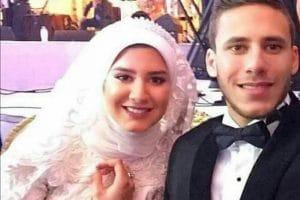 صور زفاف رمضان صبحى وحبيبة إكرامى 2018