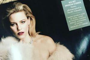 أحدث صور الممثلة الأجنبية إليزابيث بانكس