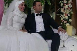 صور زفاف معز مسعود وبسنت نور الدين