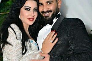 صور حفل زواج أحمد سعد وسمية الخشاب
