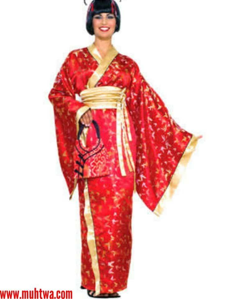 صور الملابس اليابانية والصينية