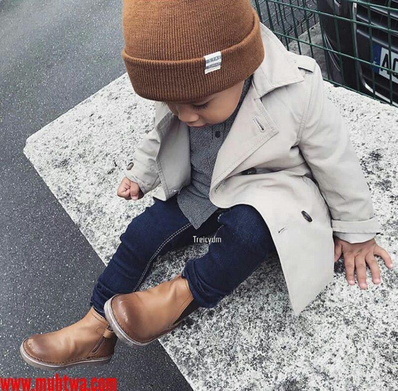 أزياء شتاء للأطفال