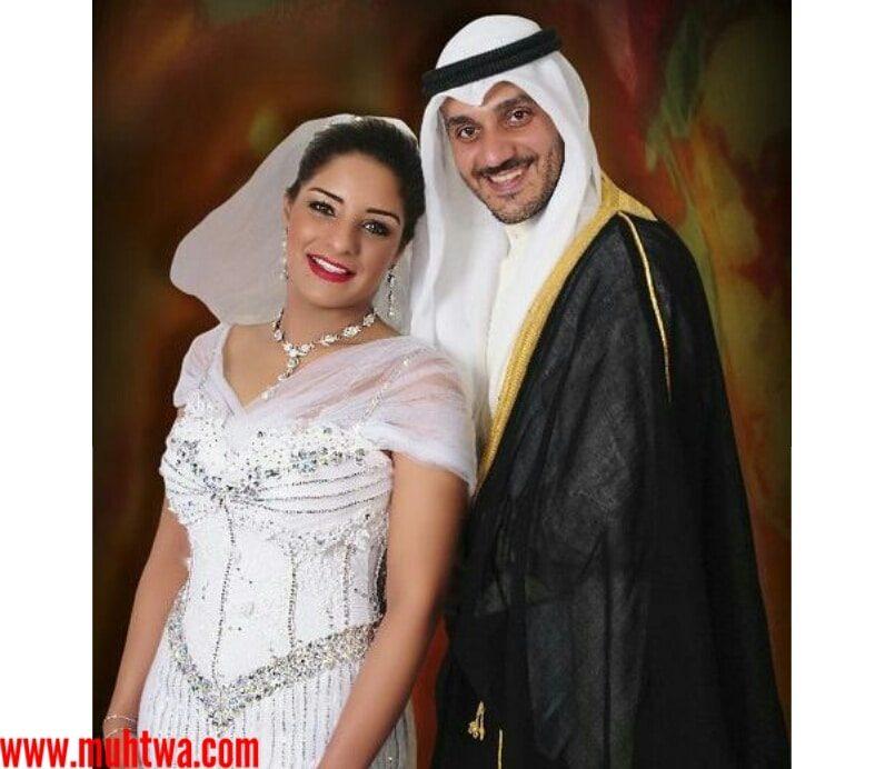 صور مرام البلوشي وزوجها