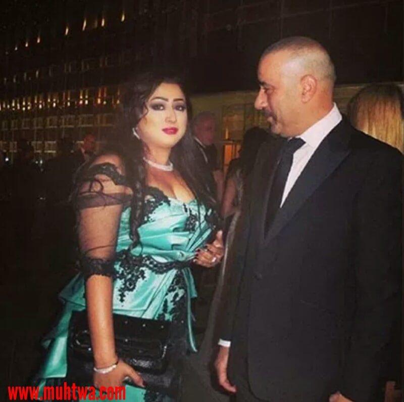 صور محمد سعد وزوجته
