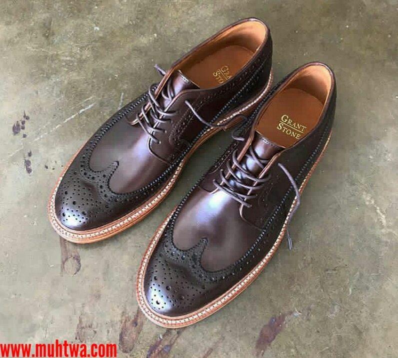 احذية جلد