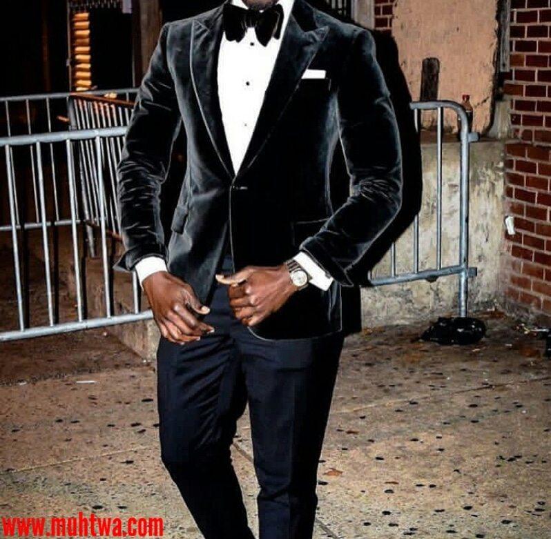 بدل رجالى سوداء للزفاف