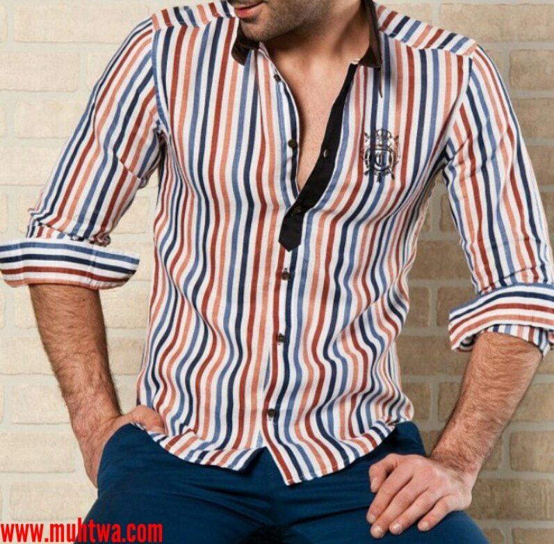 قمصان إيطالية للرجال