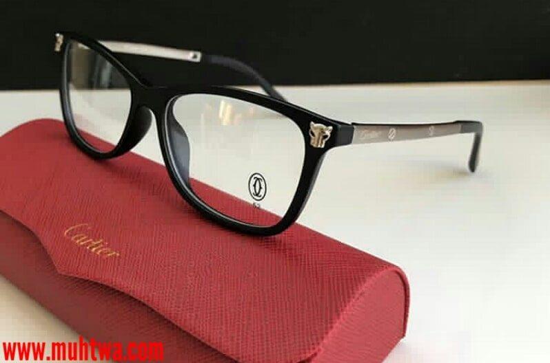 نظارات طبية كارتيه