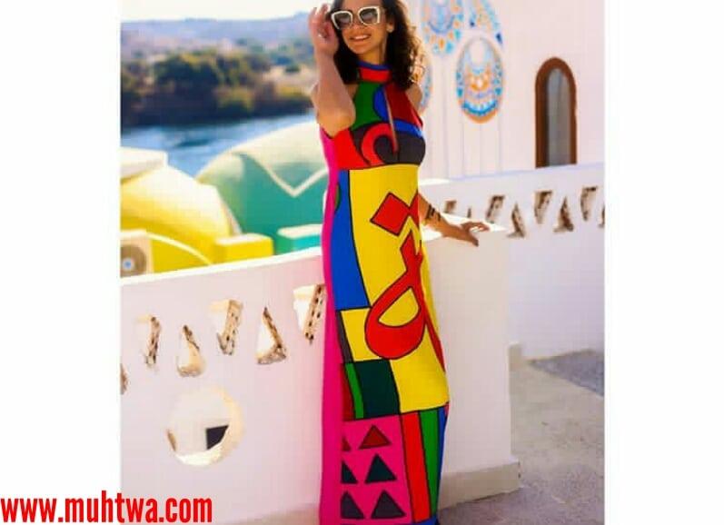 أزياء موديلات مصرية