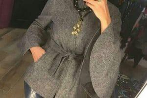 ملابس شتاء 2019 للمحجبات اجمل ملابس شتوية