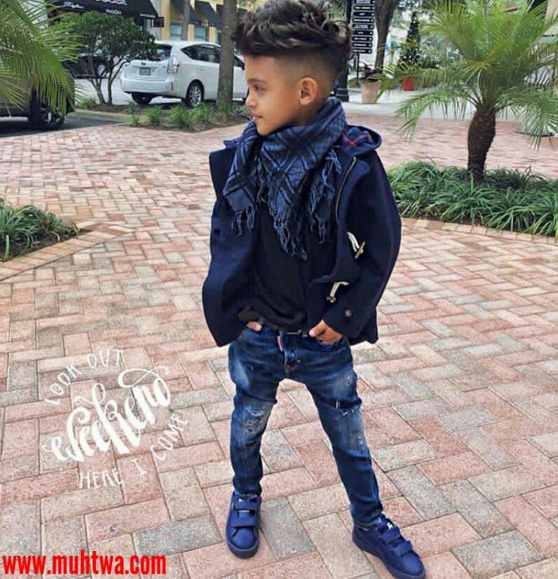 ملابس شتاء أطفال