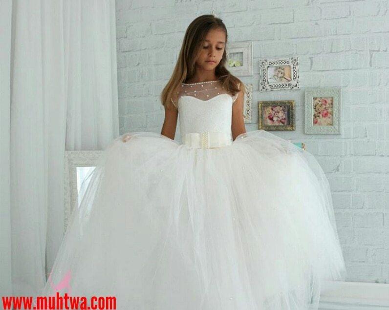 82917a1a4 أحدث فساتين الزفاف للأطفال - موقع محتوى