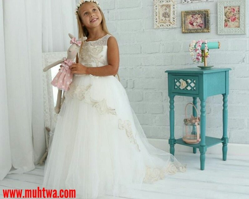 فساتين زفاف اطفال