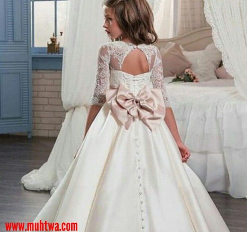 a7533d875500d أحدث فساتين الزفاف للأطفال - موقع محتوى