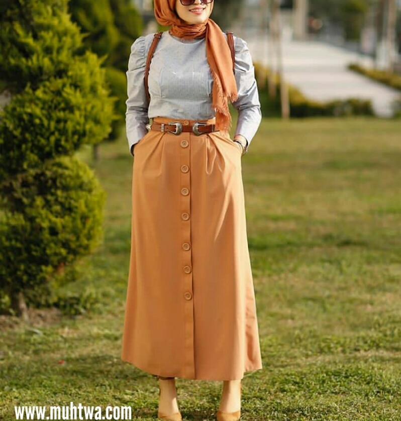 ملابس صيفية للمحجبات تركية - موقع محتوى