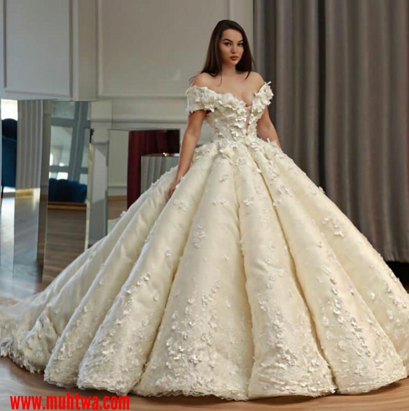 c39518568 احدث موديلات فساتين الزفاف - موقع محتوى
