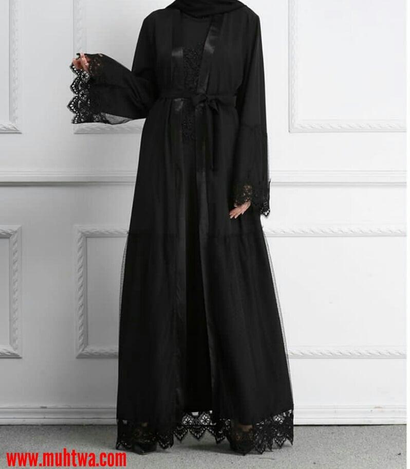 90cfd7b9cf818 عبايات سعودية سوداء - موقع محتوى