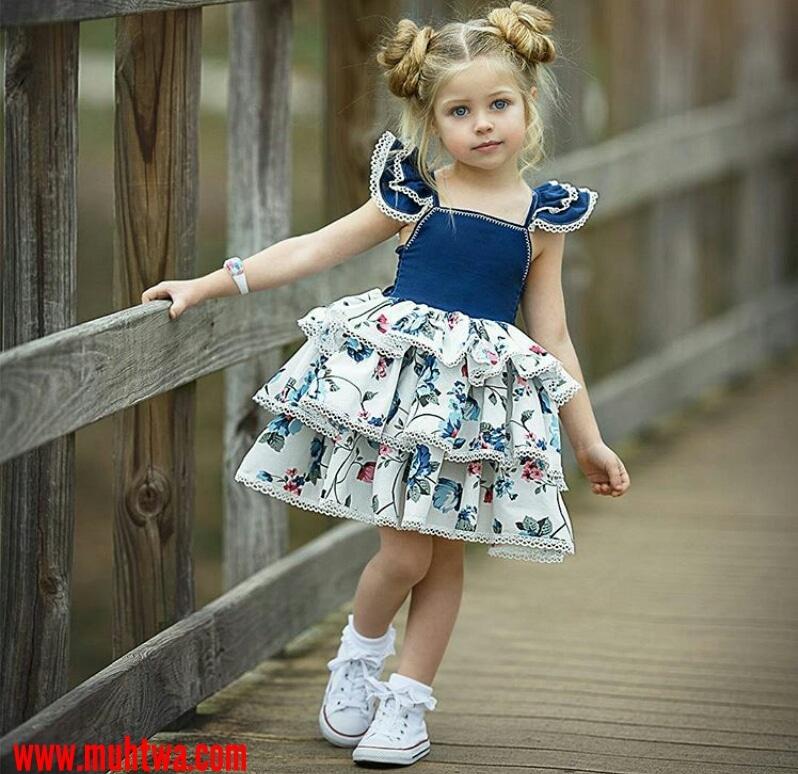 372e87477 فساتين اطفال موضة 2019 - موقع محتوى