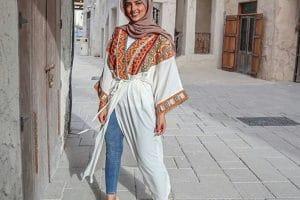 ملابس محجبات كاجوال للعيد