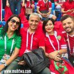 صور مشجعات وجماهير منتخب المغرب 2018