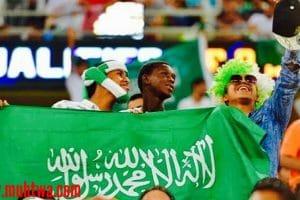 صور مشجعات وجماهير منتخب السعودية 2019