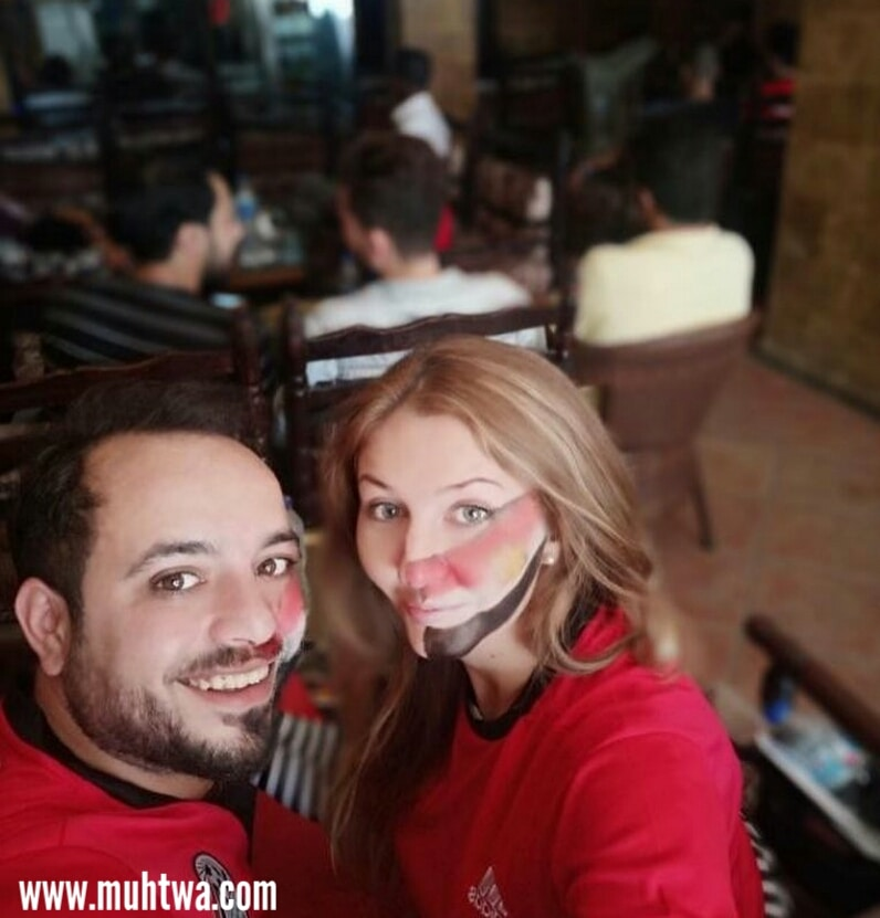 صور مشجعين مصر